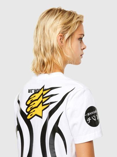 Diesel - ASTARS-T-DIEGOS-A-FL, Blanc - T-Shirts - Image 4