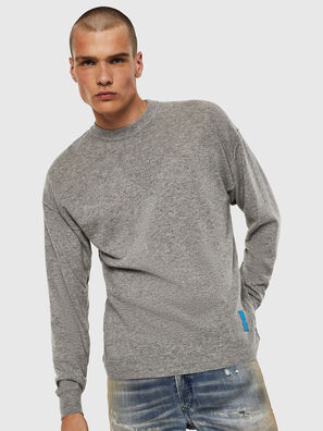K-LETO, Gris - Pull Maille