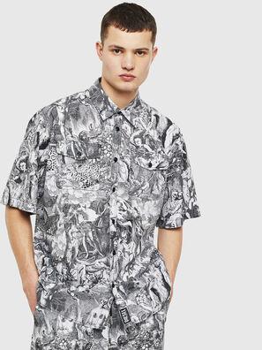 S-WED-KAOS, Noir/Blanc - Chemises