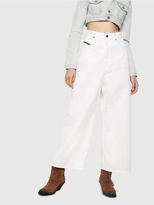 Diesel - D-Luite 069EE, Blanc - Jeans - Image 1