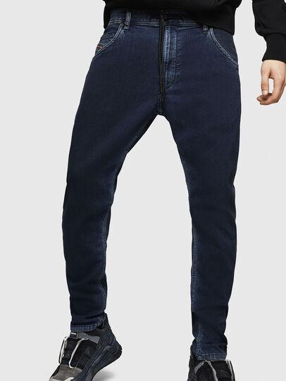 Diesel - Krooley JoggJeans 069HY, Bleu Foncé - Jeans - Image 4