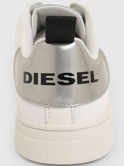 Diesel - S-CLEVER SO W, Blanc/Gris argenté - Baskets - Image 4
