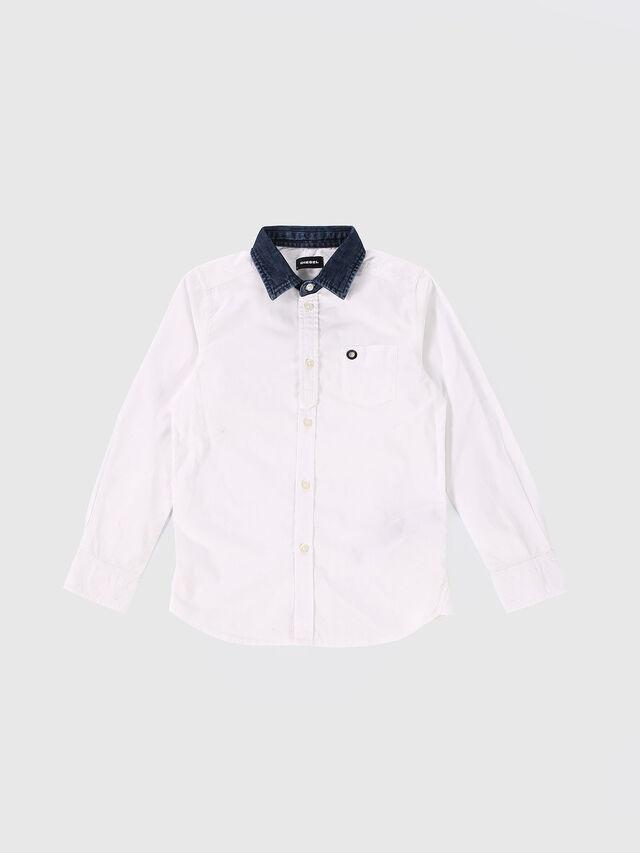 KIDS CYMELDN, Blanc - Chemises - Image 1
