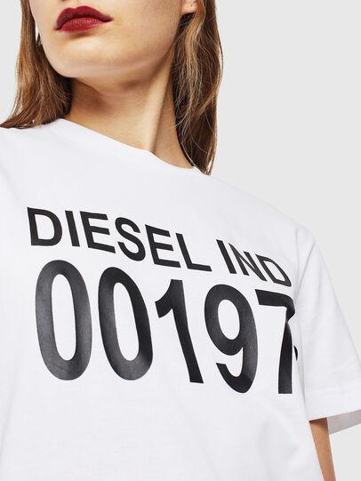 Diesel - T-DIEGO-001978, Blanc - T-Shirts - Image 5
