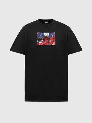 T-TUBOLAR-N2, Noir - T-Shirts