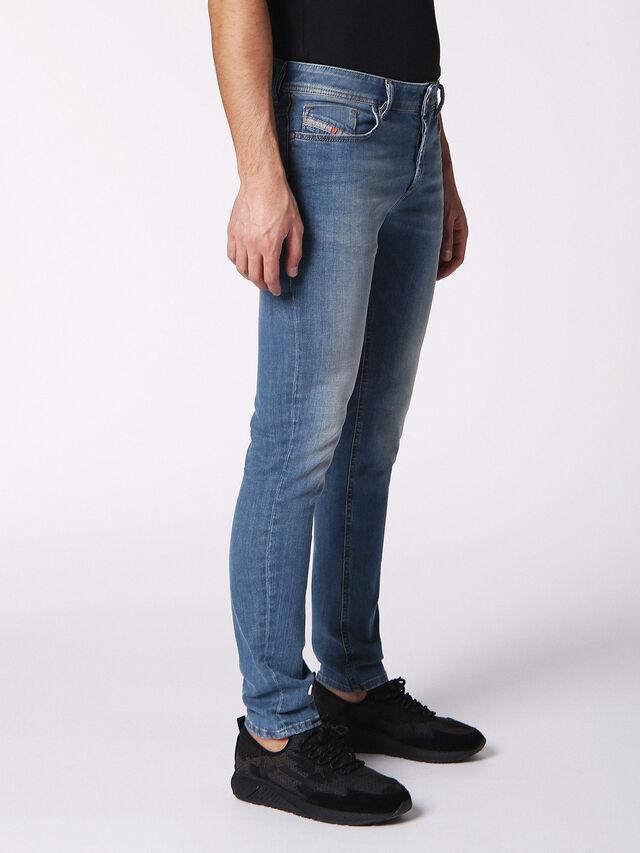 Diesel - Sleenker 084RV, Jean Bleu - Jeans - Image 3