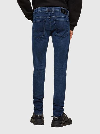 Diesel - Sleenker 009QI, Bleu Foncé - Jeans - Image 2