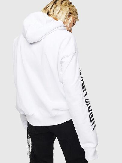 Diesel - F-ALBYHOOK-C, Blanc - Pull Cotton - Image 2