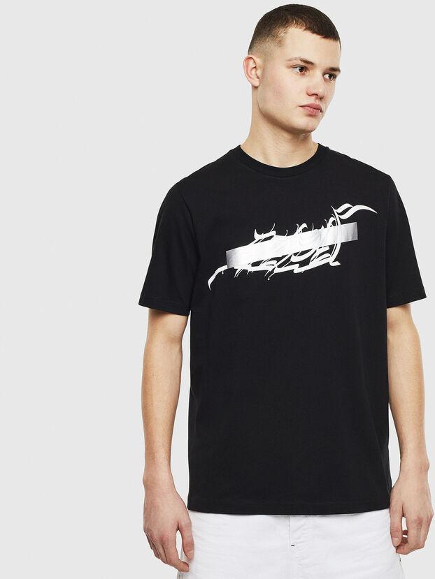T-JUST-T11, Noir - T-Shirts