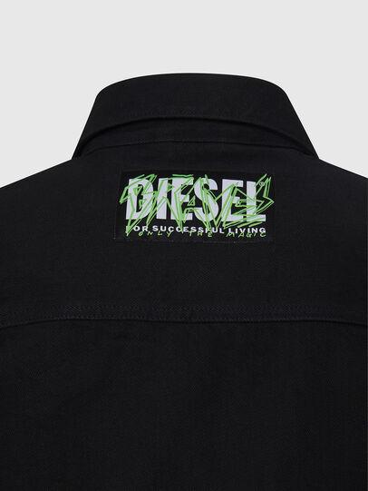 Diesel - NHILL-C, Noir - Vestes en denim - Image 6