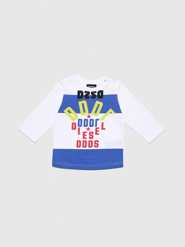 TOLIB, Blanc/Bleu - T-shirts et Hauts