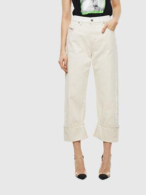 D-Reggy 009BB, Blanc - Jeans