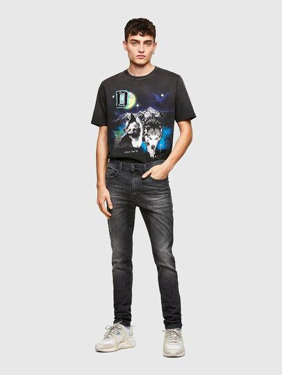 Diesel - D-Reeft JoggJeans® 009SU, Noir/Gris foncé - Jeans - Image 5