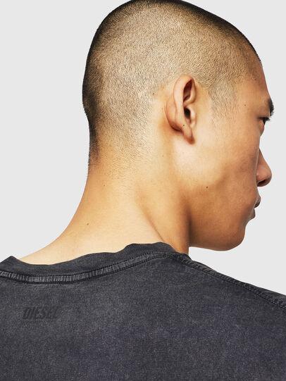 Diesel - T-THEA, Noir - T-Shirts - Image 4