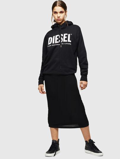 Diesel - S-ASTICO MID LACE W, Noir - Baskets - Image 6