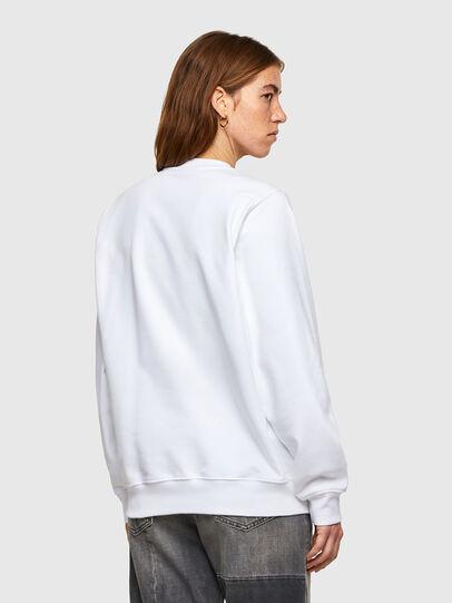 Diesel - F-ANG-SMALLOGO, Blanc - Pull Cotton - Image 2