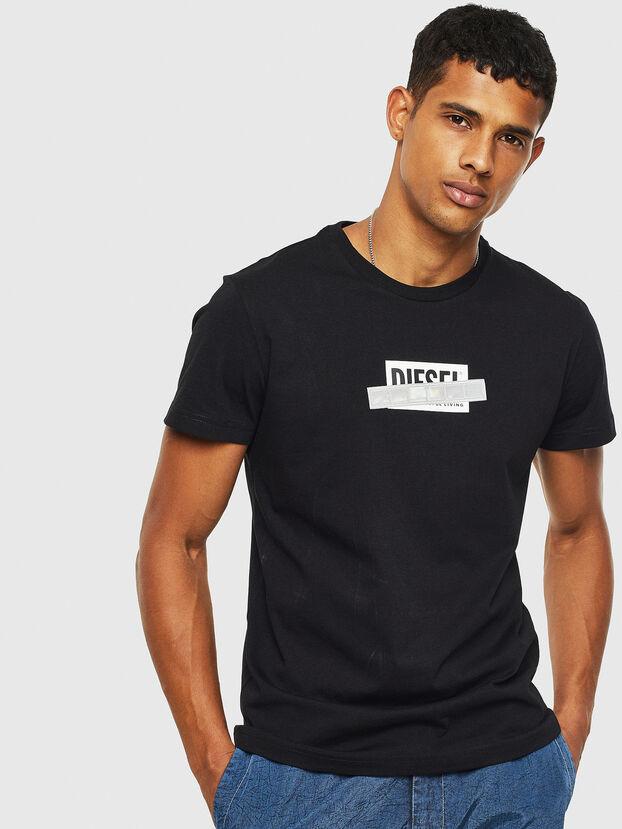 T-DIEGO-S7, Noir - T-Shirts