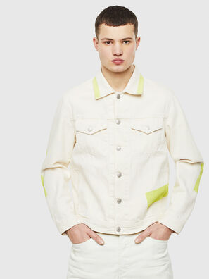 NHILL-SP, Blanc - Vestes en denim