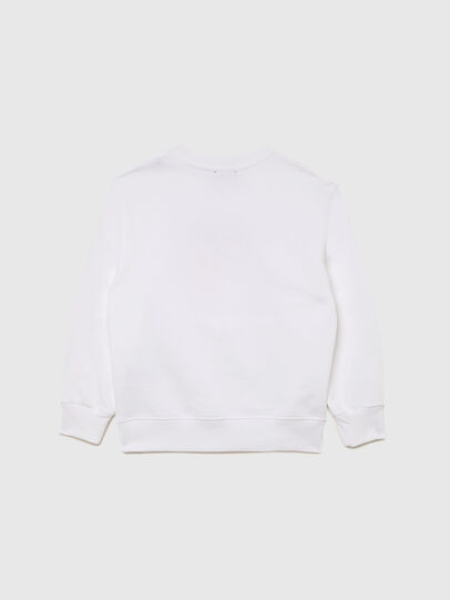 Diesel - SMUGD OVER, Blanc - Pull Cotton - Image 2