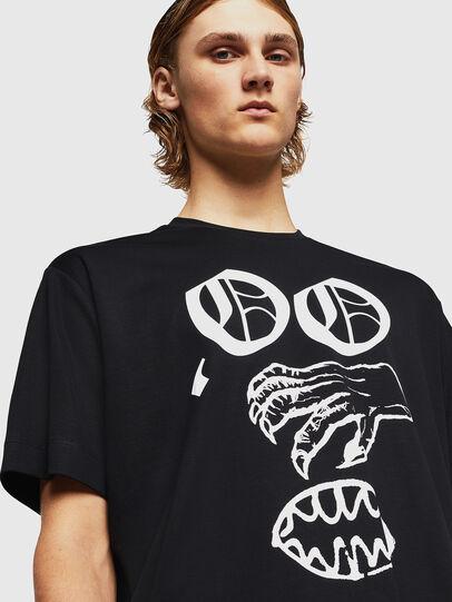 Diesel - TEORIALE-X2, Noir - T-Shirts - Image 4