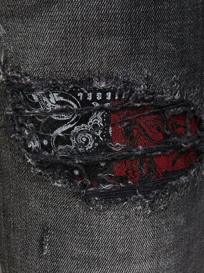 Diesel - D-Jevel 009JN, Noir/Gris foncé - Jeans - Image 4