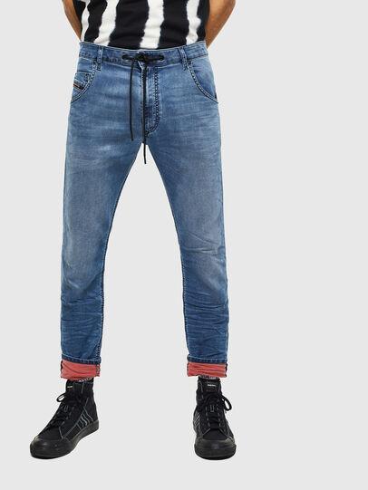 Diesel - Krooley JoggJeans 069MA, Bleu moyen - Jeans - Image 1