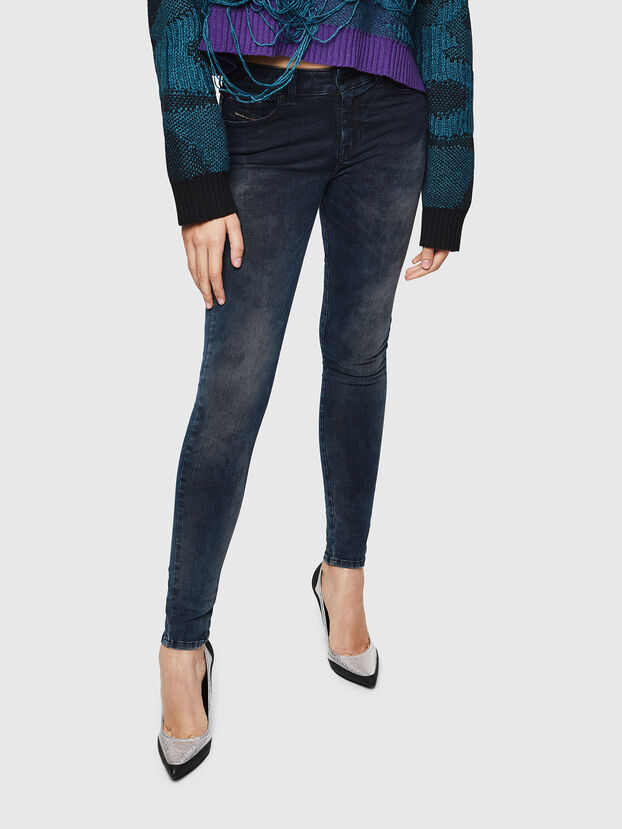 Slandy 0091X, Bleu Foncé - Jeans