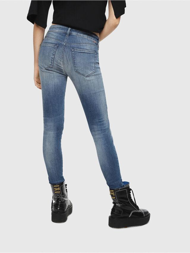 Diesel - Slandy 084MU, Bleu moyen - Jeans - Image 2