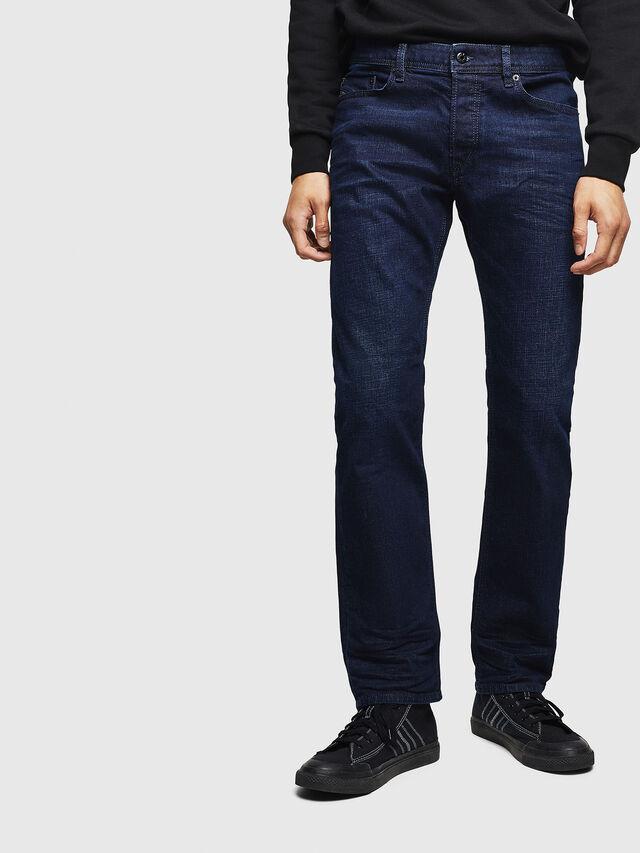 Diesel - Waykee 0860Z, Bleu Foncé - Jeans - Image 1