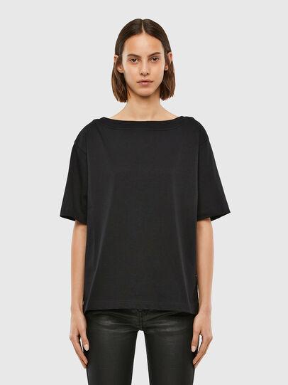 Diesel - T-SBUSETTE, Noir - T-Shirts - Image 1