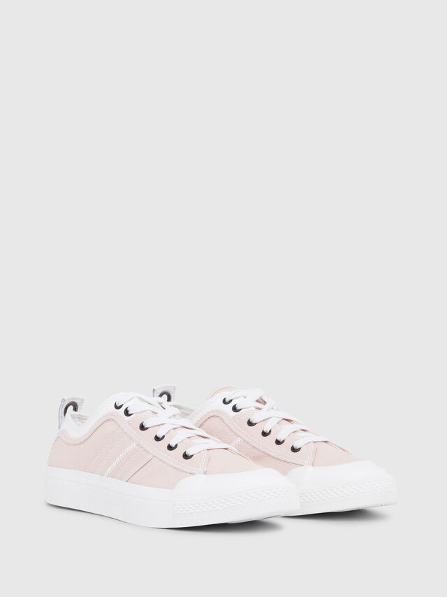 Diesel - S-ASTICO LOW LACE W, Rose/Blanc - Baskets - Image 2
