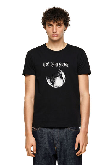 T-shirt Green Label avec imprimé Lune