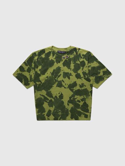 Diesel - PR-TS01, Vert - T-Shirts - Image 1