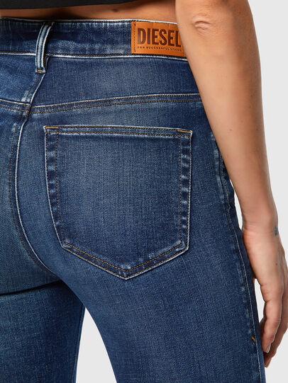 Diesel - Slandy High 009ZX, Bleu Foncé - Jeans - Image 3