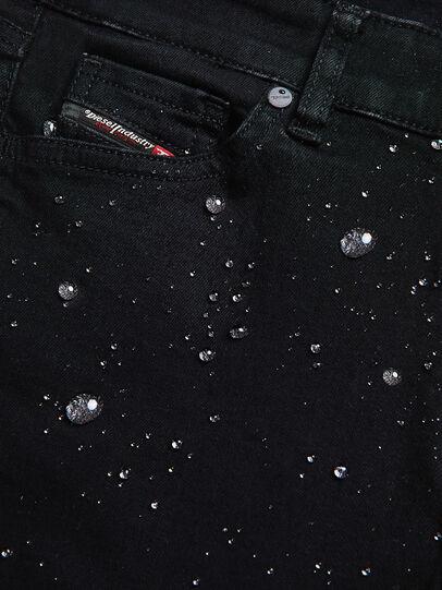 Diesel - Sleenker A69EI, Noir/Gris foncé - Jeans - Image 5