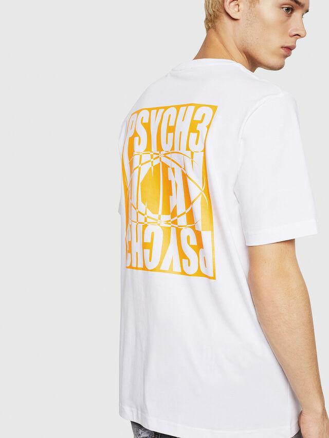 Diesel - T-JUST-Y20, Blanc - T-Shirts - Image 2