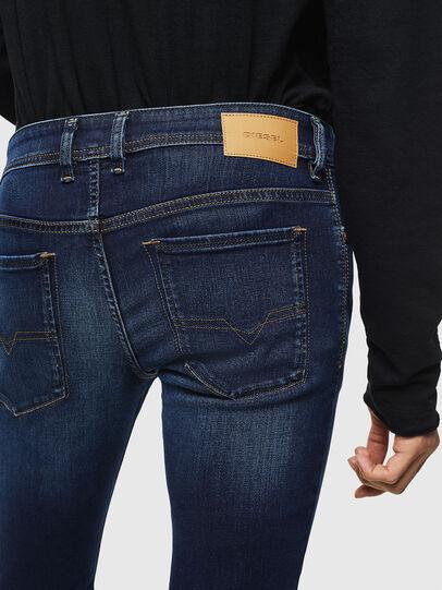 Diesel - Sleenker 084RI, Bleu Foncé - Jeans - Image 5