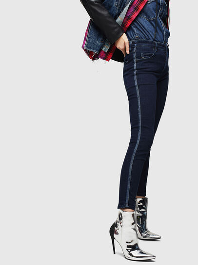 Diesel - Babhila 0096R, Bleu Foncé - Jeans - Image 6
