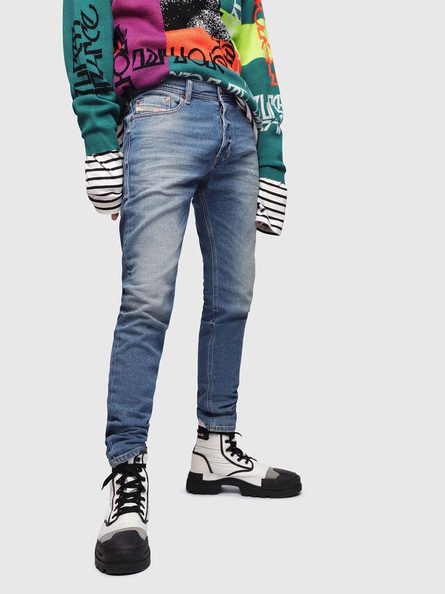 Diesel - Tepphar 089AW, Bleu moyen - Jeans - Image 1