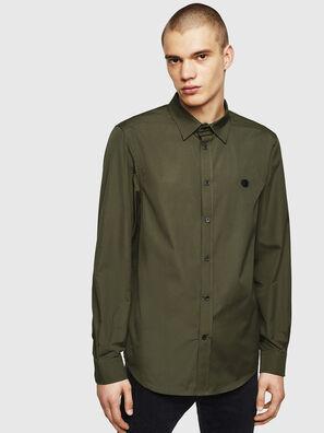 S-BILL, Vert Foncé - Chemises