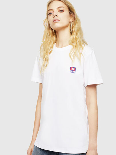 Diesel - T-DIEGO-DIV, Blanc - T-Shirts - Image 2