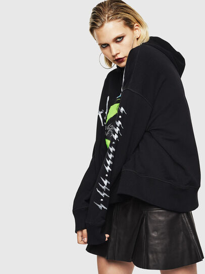 Diesel - F-MAGGY, Noir - Pull Cotton - Image 5