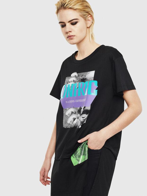 T-SHALIE, Noir - T-Shirts