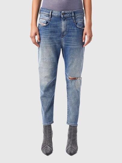 Diesel - Fayza 09B16, Bleu Clair - Jeans - Image 1