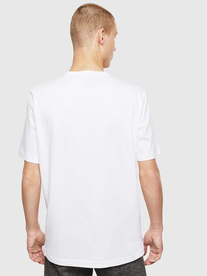 Diesel - T-JUST-T25, Blanc - T-Shirts - Image 2