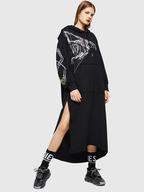 D-ILSE-TWIST-A, Noir - Robes
