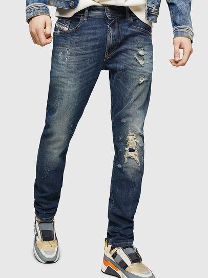 Diesel - Thommer 083AC, Bleu Foncé - Jeans - Image 1