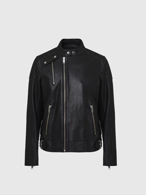 L-CODY, Noir - Vestes de cuir