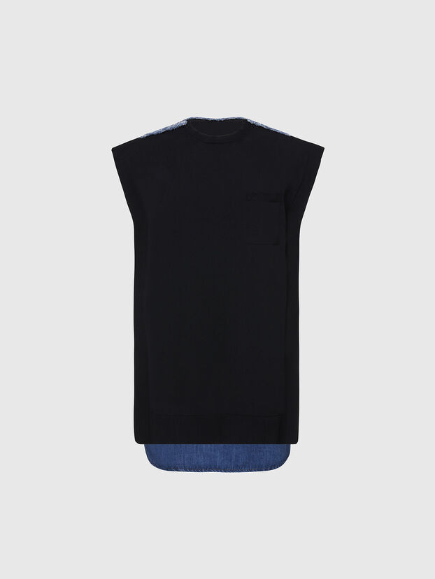 M-BYRNE, Noir/Bleu - Robes