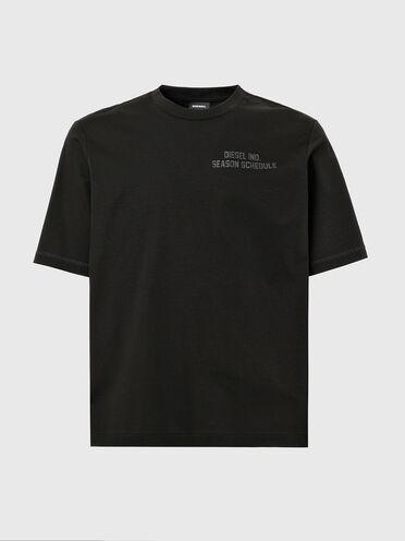 T-shirt avec imprimé Schedule ton sur ton